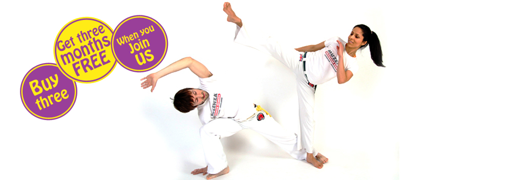 Capoeira Special Deal 3 months free
