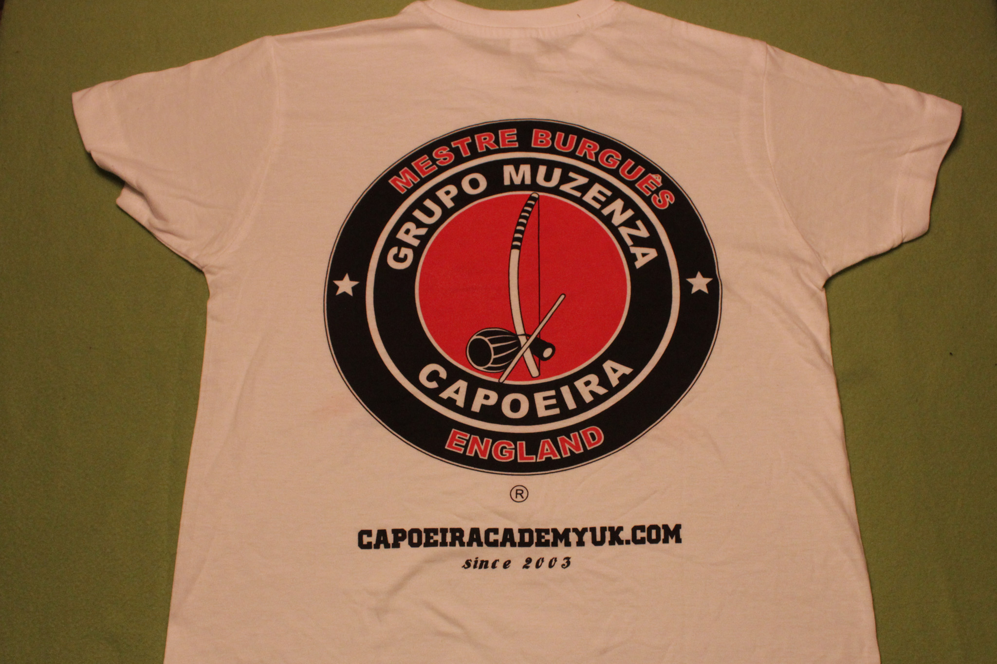 Capoeira t-shirts kids to sale